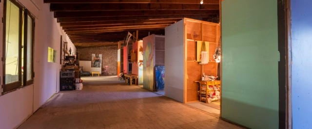 Studio spaces at the Fort
