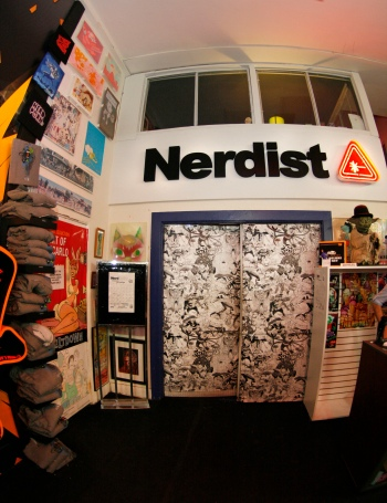 The entrance to NerdMelt Showroom